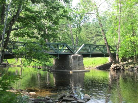 Bridge over the Wickecheoke Creek
