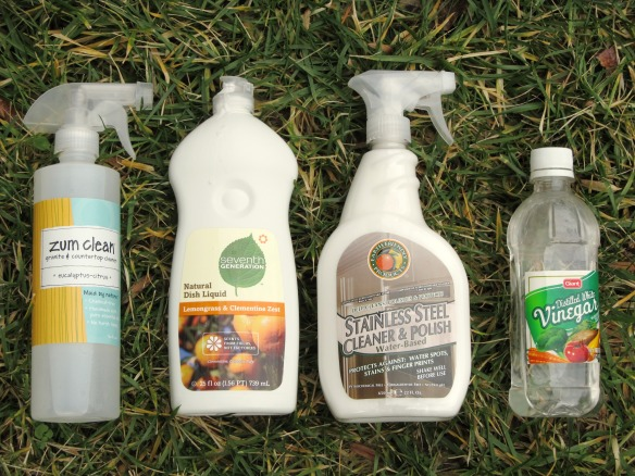 Eco-friendly household cleaning products