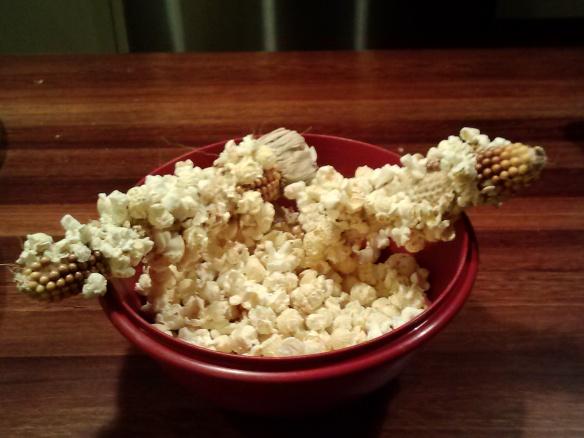 really green popcorn