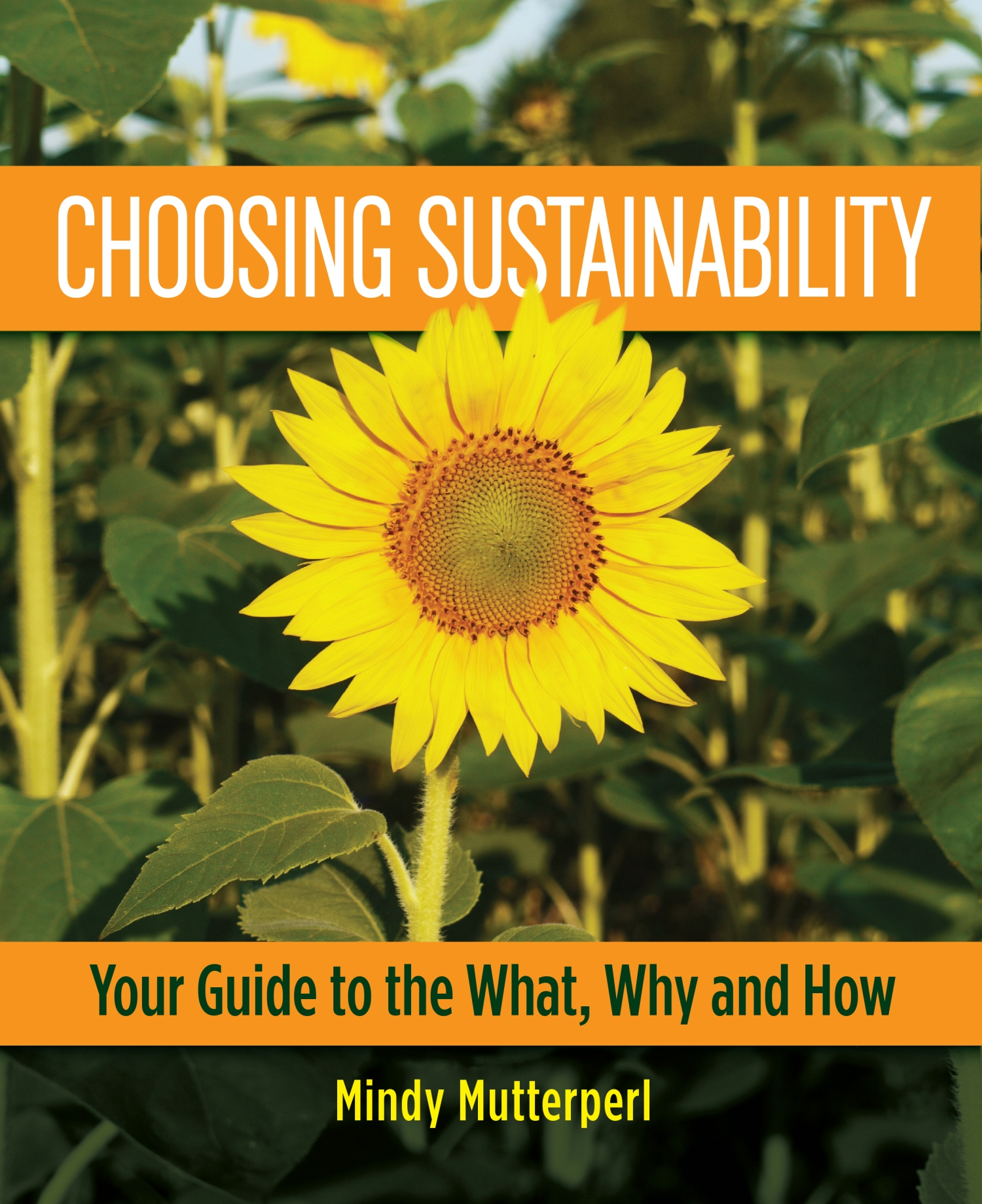Book on sustainable lifestyle choices