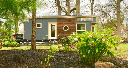 A sustainable tiny home