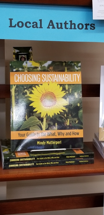 Doylestown bookshop displays Choosing Sustainability